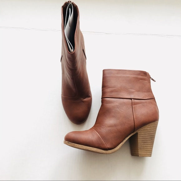 29b6a61a1fa New! Women's SO 'PACEY' Cognac Boots, 8 NWT